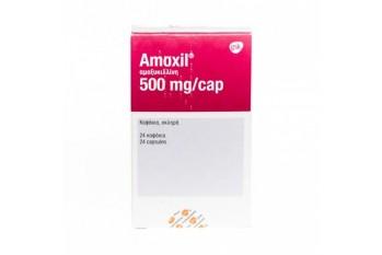 EU - AMOXYCILLIN 500MG (gsk) X 12 CAPSULES
