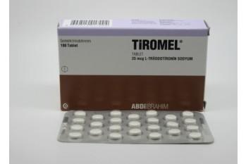 UK - CYTOMEL - T3 (25MCG / 100 TABS) - TIROMEL